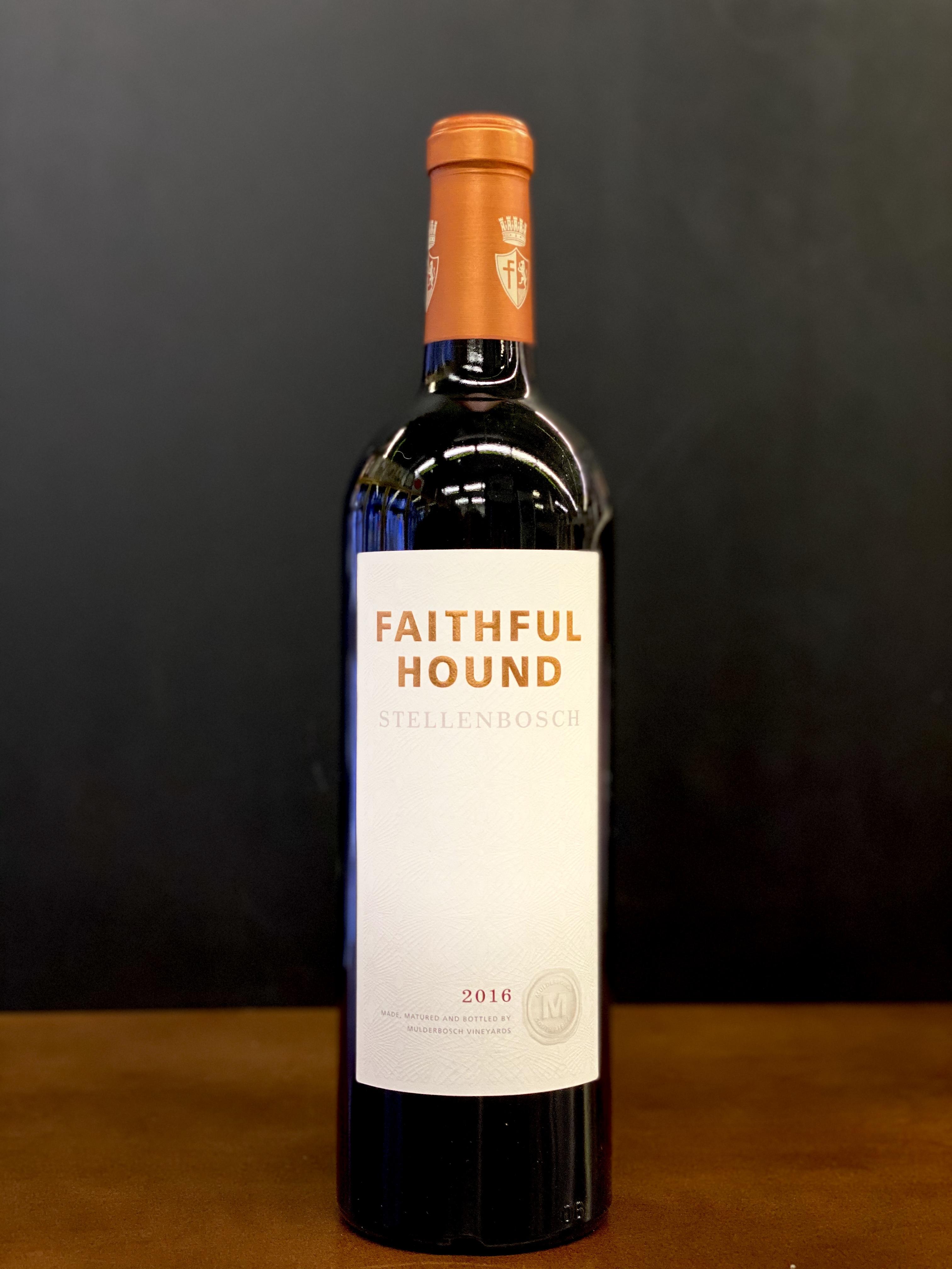Mulderbosch Vineyards Faithful Hound Stellenbosch Red 2016